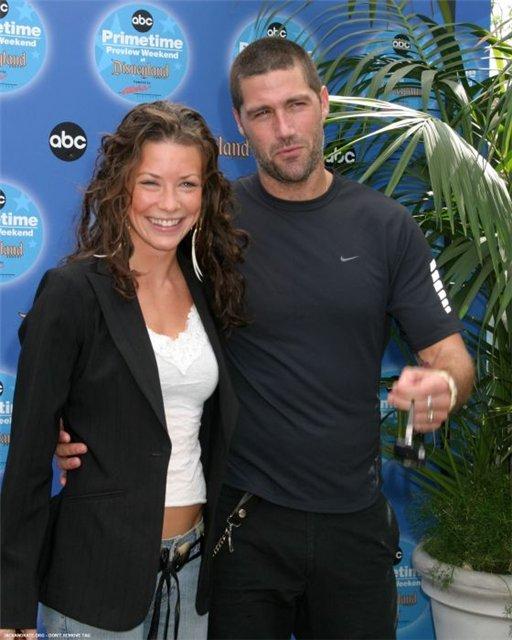 Evangeline LIly alongside exhusband Murray Hone